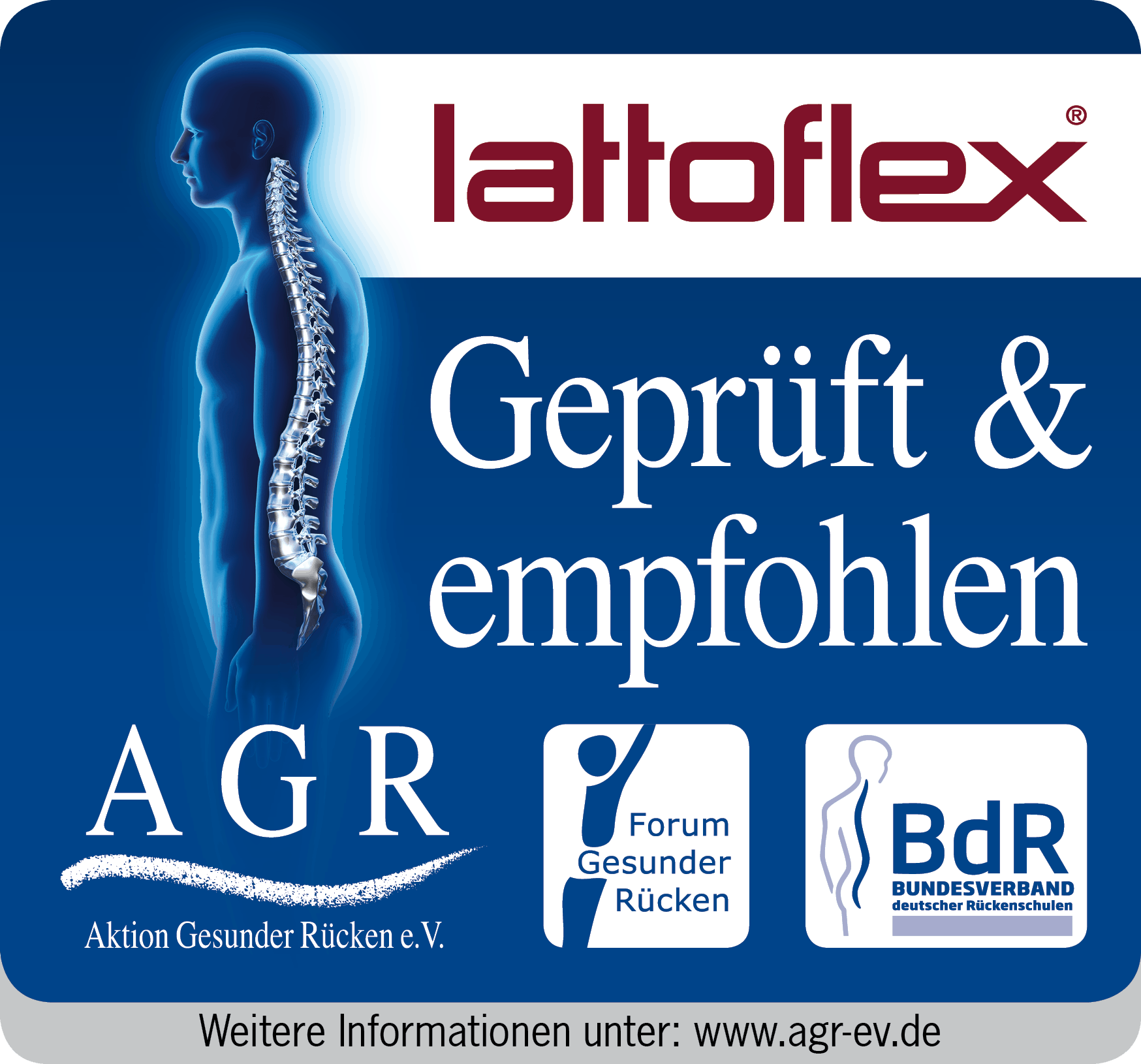 AGR Zertifizierung Lattoflex